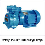 Rotary Vacuum Water-Ring Pumps