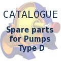 full catalogue on spare parts to pumps of type D